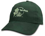 Example of screen printing on a hat